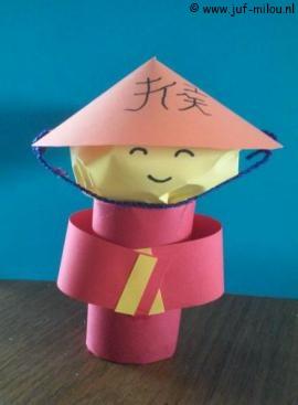 knutselen culturen chinezen juf milou