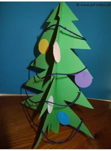 Knutselen Feesten Kerstmis Juf Milou
