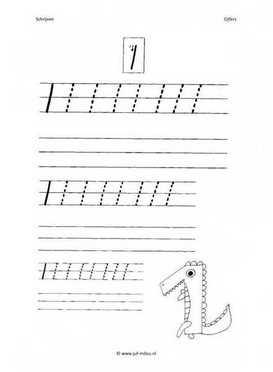 Verrassend Rekenen - werkbladen - cijfers schrijven ~ Juf Milou YI-29