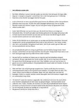 Samsclub Credit Login >> Begrijpend Lezen Werkbladen Groep 7 8 - Frameimage.org